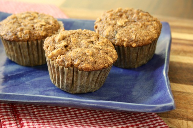 healthy kitchen sink muffins