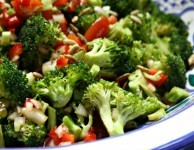 molasses marinated broccoli salad