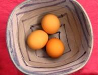 warming eggs