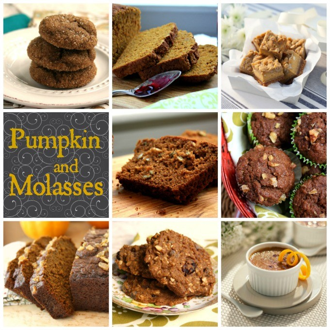 pumpkin and molasses recipes
