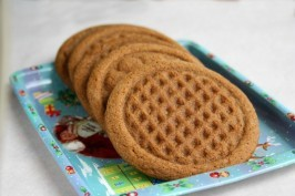 ginger spice molasses cookies