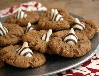 Peanut Butter Molasses Cookies
