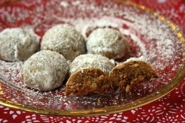 molasses walnut cookies