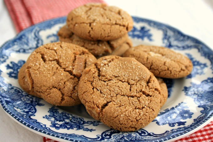 Ina Garten's Ginger Cookies, adapted by Crosby's Fancy Molasses