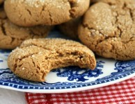 ultimate molasses cookies from Ina Garten