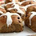 molasses hot cross buns