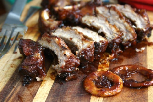 oven baked ribs sm