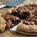 molasses walnut galette