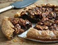 molasses walnut galette