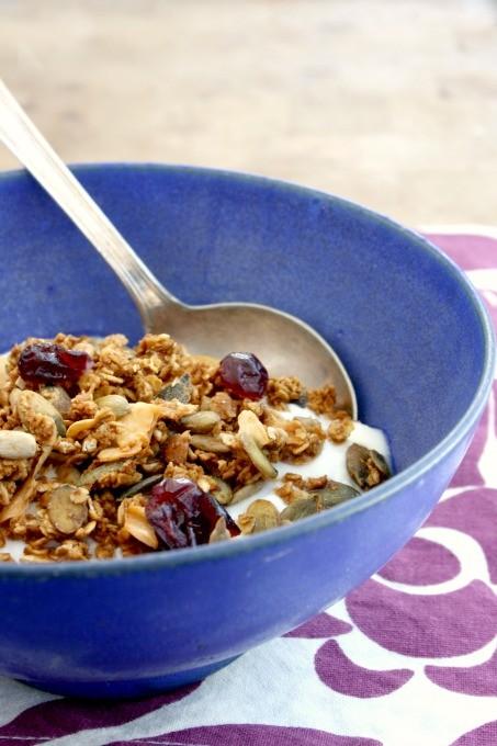 easy applesauce granola