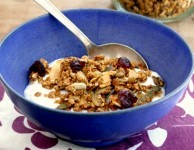 easy applesauce granola