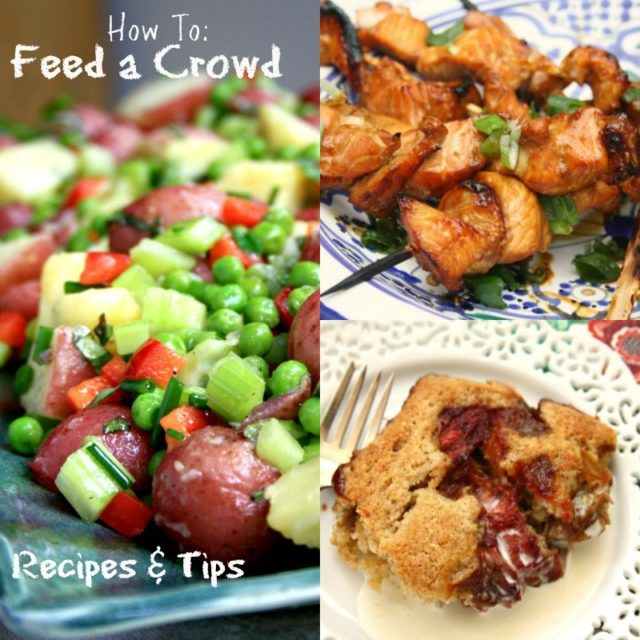 Feeding a crowd with ease recipes and tips for summer celebrations how to feed a crowd forumfinder Gallery