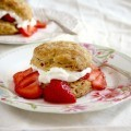 ginger biscuit strawberry shortcake