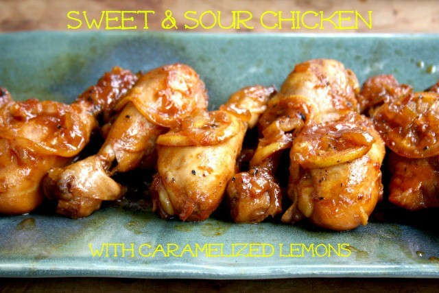 sweet and sour chicken drumsticks
