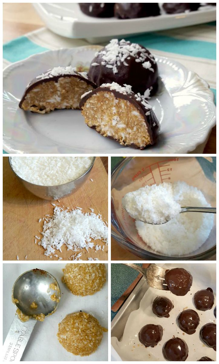 Coconut mounds - a step-by-step guide