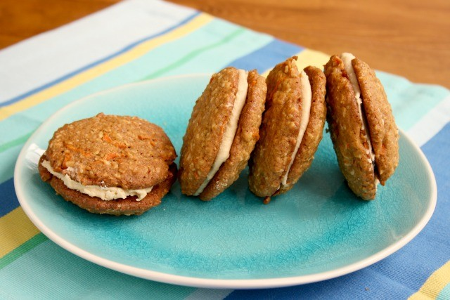 Carrot Cake Cookies for Carrot Cake Whoopie Pies - Crosby's Molasses