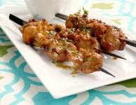 ginger chicken kabobs