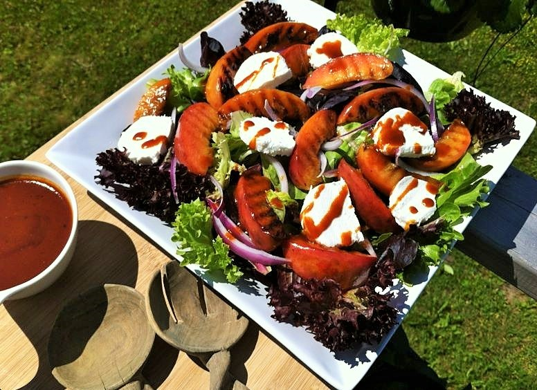 also made the long weekend grilled salad from oh she glows which i ...