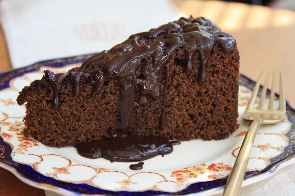 Chocolate Molasses Cake
