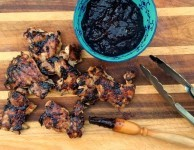 blueberry bourbon barbecue sauce