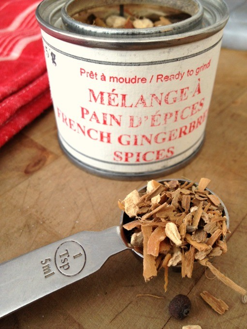 French gingerbread spices