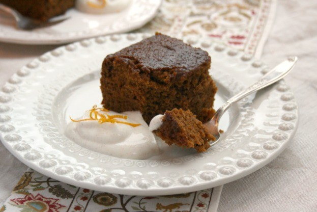 Orange Spice Gingerbread Cake - Crosby's Molasses