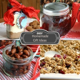 Easy homemade gift ideas: edible gifts you can make in a jiffy