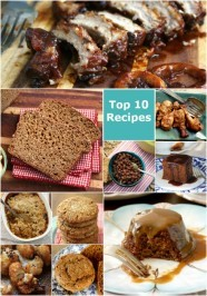 Top 10 molasses recipes of 2015 including breads, cookies, vegetables and ribs