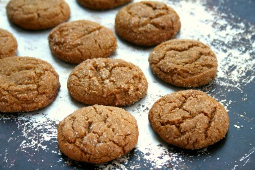 Bakery style molasses cookies are the easiest cookie recipe ever. You ...