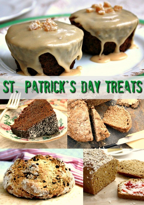 5 St. Patrick's Day recipes: Irish soad breads, Baily's Irish Cream cupcakes and hearty Guinness Stout gingerbread.