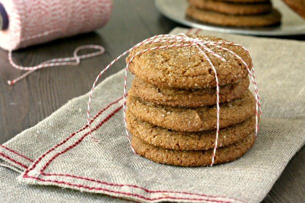 Biscuits géants au gingembre