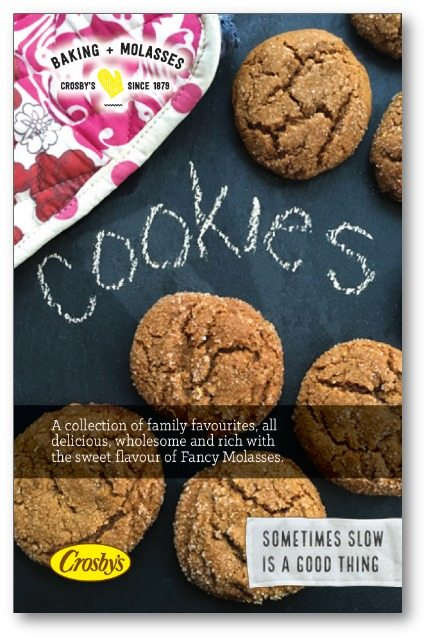 Favourite molasses cookie recipes: A collection of 20 cookie recipes, from ginger snaps to hermits, classic molasses crinkle cookies, oatmeal and more.