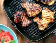 molasses lime grilled chicken