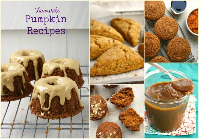 Favourite pumpkin recipes for Fall: 6 recipes for baked goods and special treats.
