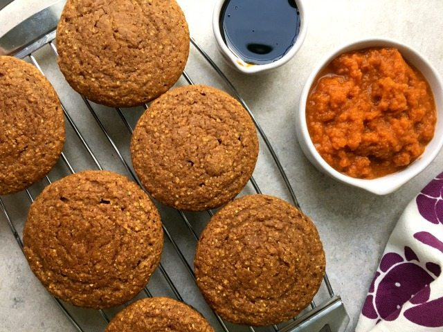 Pumpkin Spice Cornmeal Muffins: With just a half cup of pumpkin puree and cornmeal and molasses to balance the pumpkin flavour, these muffins are surprisingly light textured. Even after a few days on the counter they don't end up dense like many muffins.