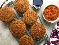 Muffins épicés à la citrouille et semoule de maïs