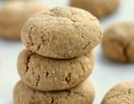 Easy almond cookies have a chewy texture and wholesome substance. They're gluten-free, refined-sugar free, paleo and taste like real cookies.