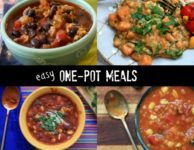 Easy One-Pot Meals: healthy soups, chili and stew