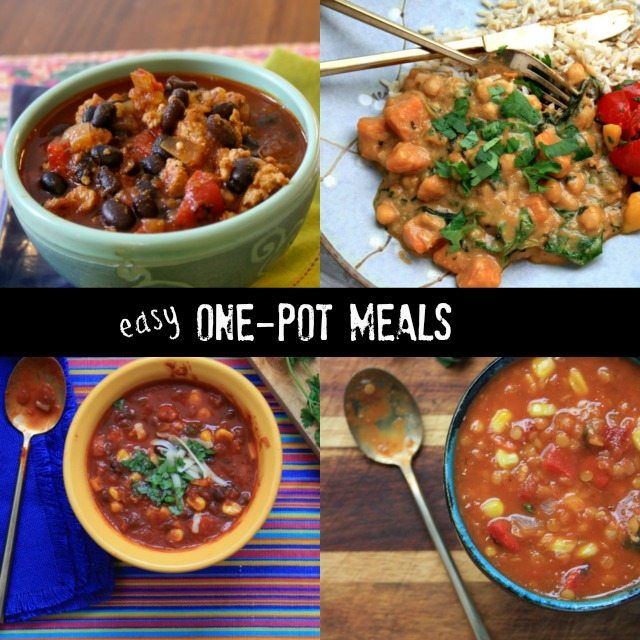 Healthy One Pot Meals: healthy soups, chili and stew