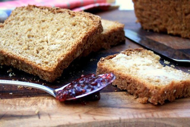 oatmeal brown bread - Mom's