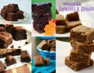 6 irresistible brownies and blondies recipes