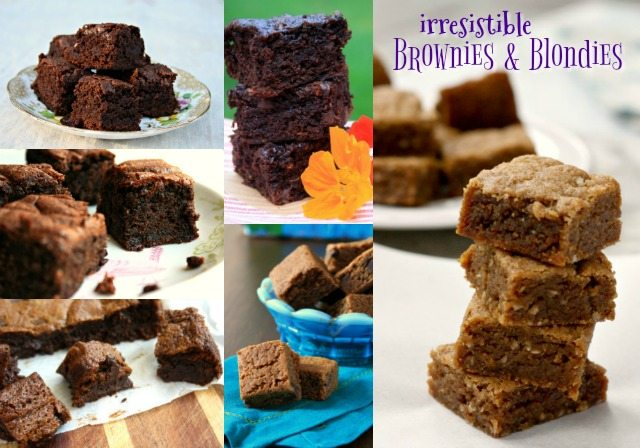 6 irresistible recipes for brownies and blondies