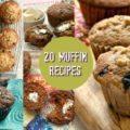 20 muffin recipes in a free eBook