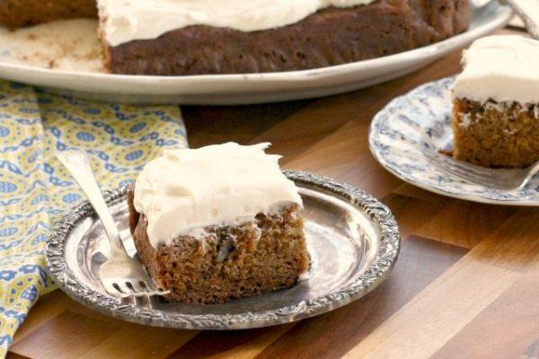 Healthier carrot cake recipe