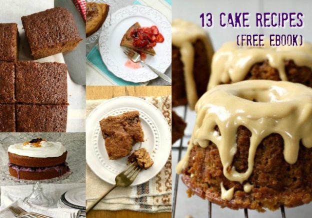 13 cake recipes in a free eBook
