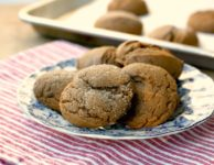 Simon's easy soft molasses cookies recipe