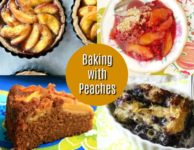 Baking with Peaches: 4 Favourite Peach Recipes for summer