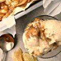 Crème glacée non barattée au gingembre et au caramel