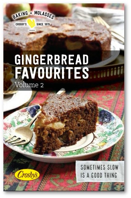 Gingerbread favourites: 12 New Gingerbread Recipes in a Free eBook