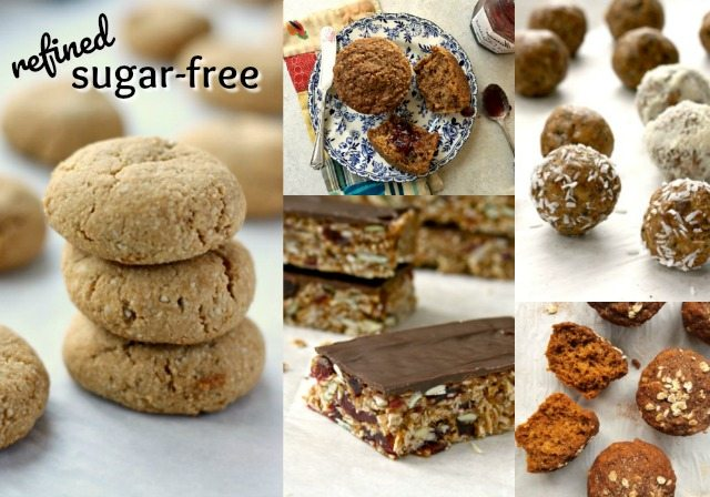 Refined sugar free snacks- 14 wholesome recipes